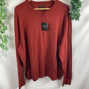 NWT Nordstrom Mens Merino Long Sleeve Sweater